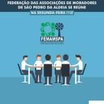 SÃO PEDRO DA ALDEIA – Federação das Associações de Moradores de São Pedro da Aldeia se reúne na segunda-feira (13)