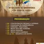 EVENTO – PREFEITURA REALIZA 26º CAVALGADA DA INDEPENDÊNCIA NESTA SEXTA-FEIRA (7)