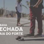 CABO FRIO – Orla da Praia do Forte será fechada para o tráfego de veículos aos domingos