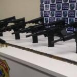 AÇÕES POLICIAIS – Operação apreende 6 fuzis e prende homens apontados como os chefes do tráfico em Macaé