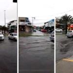 CABO FRIO – Ruas do Centro de Cabo Frio ficam alagadas; confira a previsão do tempo
