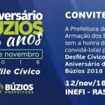BÚZIOS – Desfile Cívico em comemoração ao aniversário de Búzios