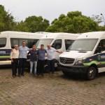 BÚZIOS – Prefeitura adquiriu três novas vans para atender demandas do município