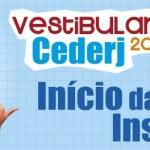 Vestibular Cederj abre inscrição para o segundo semestre de 2019