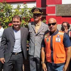 DEFESA CIVIL DE SÃO PEDRO DA ALDEIA PARTICIPAM DE CERIMÔNIA NO 18º GBM CABO FRIO