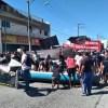 SÃO PEDRO DA ALDEIA – Protesto de pescadores causa retenção na RJ-140 no feriado