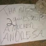AÇÕES POLICIAIS – Polícia conclui que homens encontrados mortos com bilhete são autores do estupro de universitária