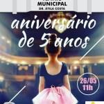 ESPETÁCULO DE DANÇA É ATRAÇÃO NO TEATRO MUNICIPAL NESTE DOMINGO (26)