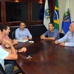 SÃO PEDRO DA ALDEIA – Prefeito Cláudio Chumbinho se reúne com prefeitos de Arraial do Cabo e Iguaba Grande
