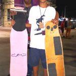 ESPORTE – Jovem aldeense de 13 anos é vencedor em campeonato de longboard no Rio de Janeiro
