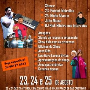 EVENTO – Cabo Frio recebe 1ª edição da Feira de São Cristóvão no próximo fim de semana