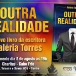 """LITERATURA – Escritora Valéria Torres lança livro """"Outra Realidade"""""""