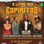"""SÃO PEDRO DA ALDEIA – TEATRO MUNICIPAL APRESENTA ESPETÁCULO """"O LIVRO DOS ESPÍRITOS"""" NESTE DOMINGO (08)"""