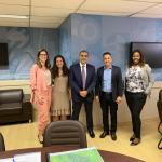 SÃO PEDRO DA ALDEIA – Prefeito Cláudio Chumbinho e secretária de Saúde se reúnem com secretário estadual