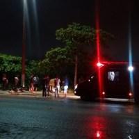 ACIDENTE – Motociclista bate em sinalização na Av. Wilson Mendes e é levado inconsciente para o hospital