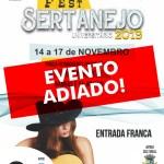 EVENTO ADIADO – Fest Sertanejo Universitário 2019 é adiado em São Pedro da Aldeia