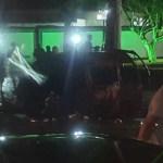 ACIDENTE – Van explode após colisão com carro e motorista é carbonizado