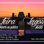 SÃO PEDRO DA ALDEIA – 5ª Edição da Feira Lagos da Casa dos Azulejos acontece nesse sábado (11)