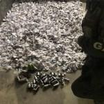Policiais do 25º BPM apreendem 3.033 cápsulas de cocaína, granada e munição em Cabo Frio