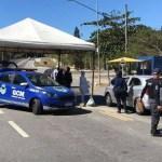 Cerca de 300 veículos são impedidos de entrar em Arraial do Cabo
