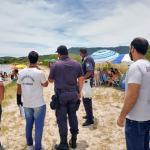 Ações de ordenamento na Praia da Salina são intensificadas em São Pedro da Aldeia