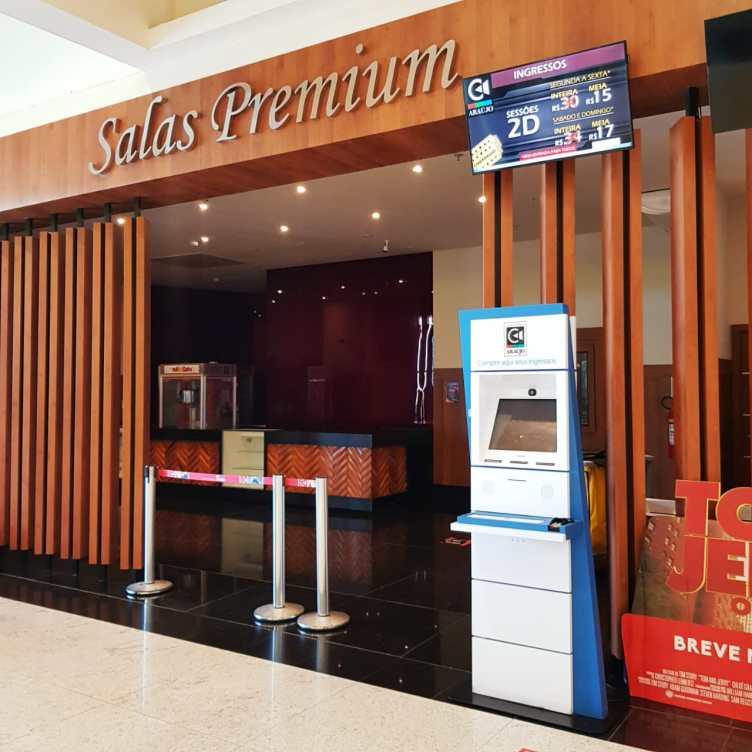 Cinemas do Shopping Park Lagos, em Cabo Frio, são reabertos