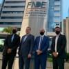 Prefeito Fábio do Pastel confirma verbas para Educação em visita a Brasília