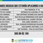 Covid-19: vacinação em idosos em São Pedro da Aldeia, com 67 anos ou mais, inicia nesta segunda-feira (29)