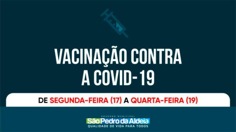 Covid-19: pessoas com comorbidades entre 50 e 59 anos serão vacinadas a partir desta segunda-feira (17)