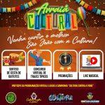 """""""Arraiá Cultural"""" resgata alegria das festas juninas com atrações virtuais em São Pedro da Aldeia"""