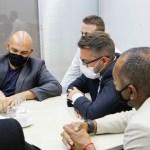 Prefeito Fábio do Pastel e secretários municipais levam principais demandas da cidade à equipe técnica do Governo Estadual