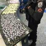 PM apreende cocaína e crack no Manoel Corrêa em Cabo Frio