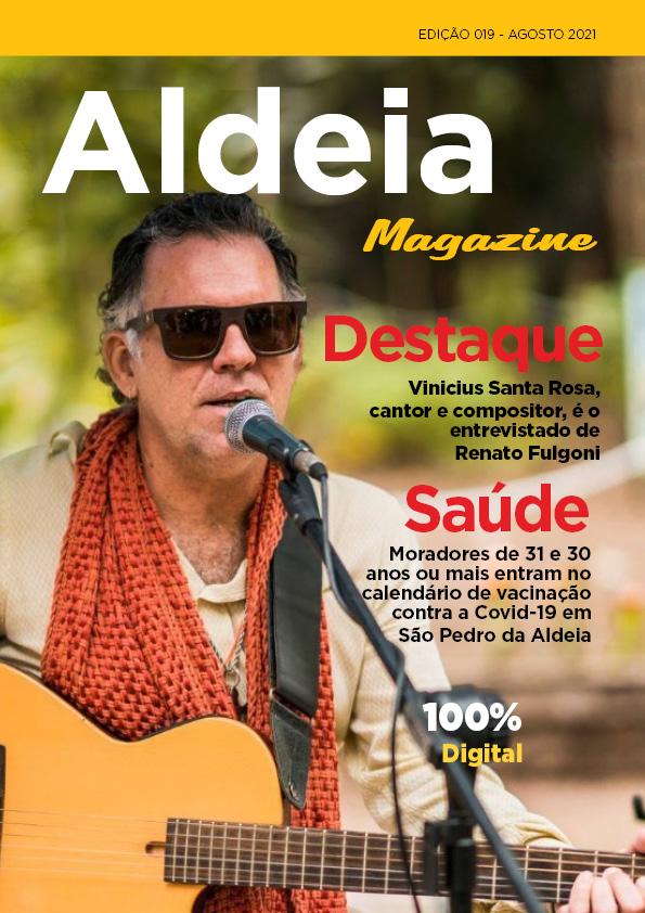 Aldeia Magazine, edição 19, agosto 2021 – nº 01