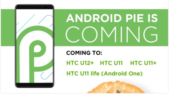 HTC Android Pie - HTC revela os smartphones que vão receber o Android Pie