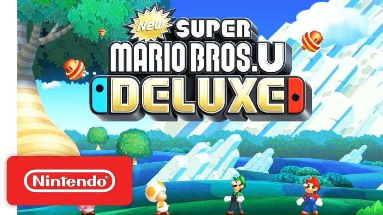 New Super Mario Bros Deluxe Anunciado Para Nintendo Switch