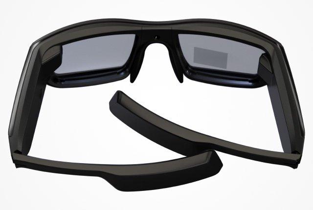 cec001bfa Todo o hardware necessário para alimentar a funcionalidade está embutido no  chassi e nas lentes dos óculos, tornando-o o produto mais elegante do  mercado.