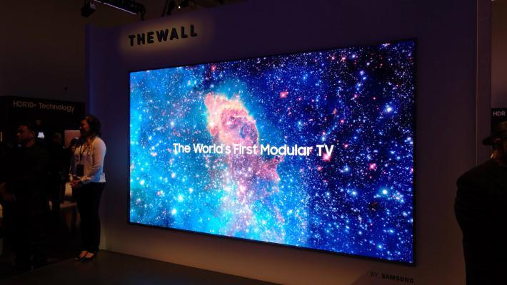 Samsung Micro LED modular - Samsung apresenta na ISE 2019 a nova geração de qualidade de imagem com sinalética digital 8K