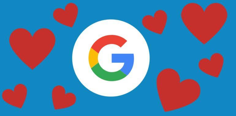 Google coração - Dia dos Namorados: o que procuram os internautas no Google
