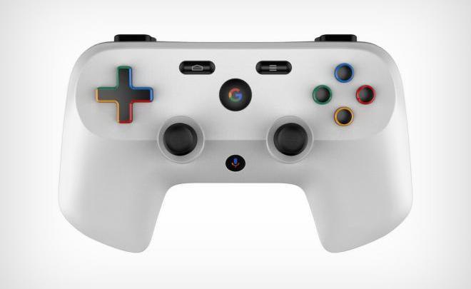Controlador Google 3 - Será este o design do controlador de jogos da consola de streaming de jogos da Google?