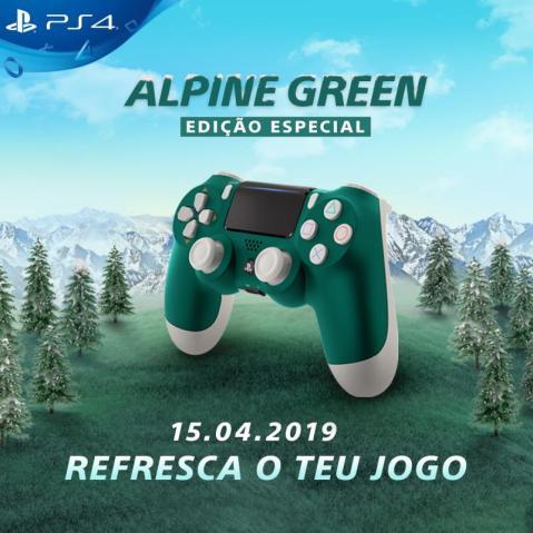 DUALSHOCK4 Alpine Green 2 - PlayStation revela edição especial do DUALSHOCK 4 em Alpine Green