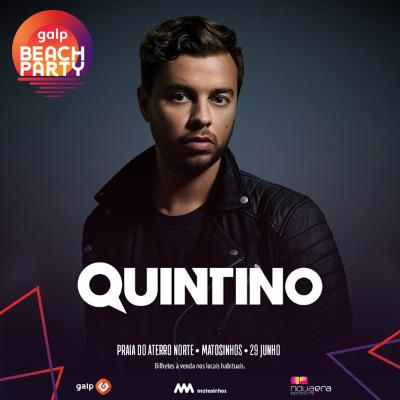 Quintino - Quintino é a mais recente confirmação do Galp Beach Party