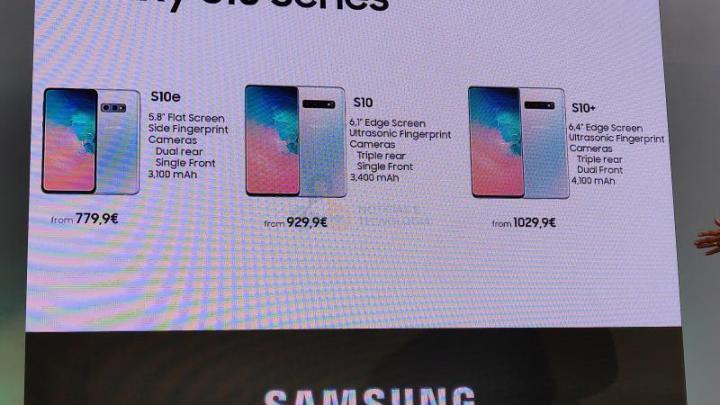 Samsung Galaxy S10 4 - Samsung começa a testar o Android Q no Galaxy S10