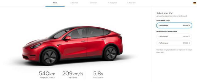 Tesla Model Y 1 - Tesla Model Y já é oficial