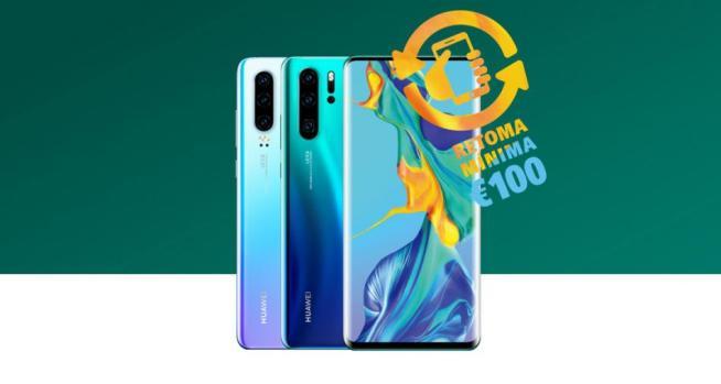 Huawei Trade In - Huawei Trade In dá no mínimo 100€ pelo seu smartphone na compra de um Huawei P30 ou P30 Pro