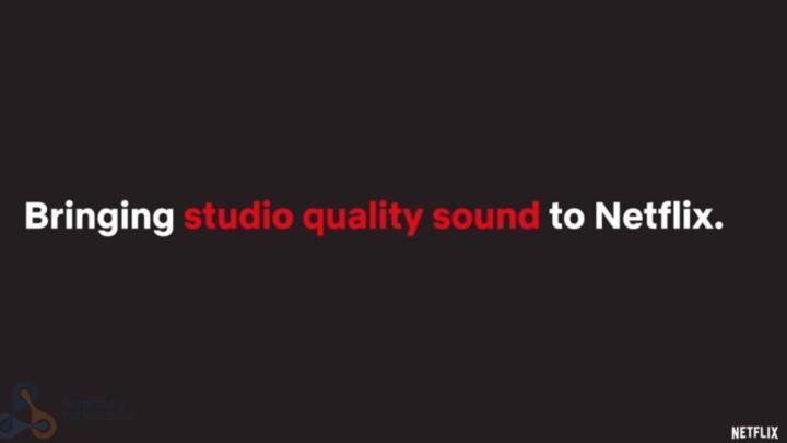 Netflix áudio