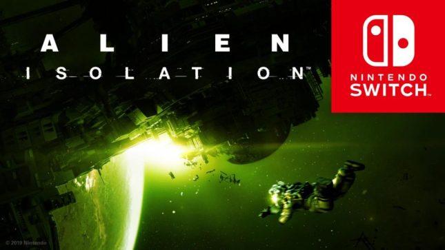 Alien Isolation - Alien: Isolation está a chegar à Nintendo Switch