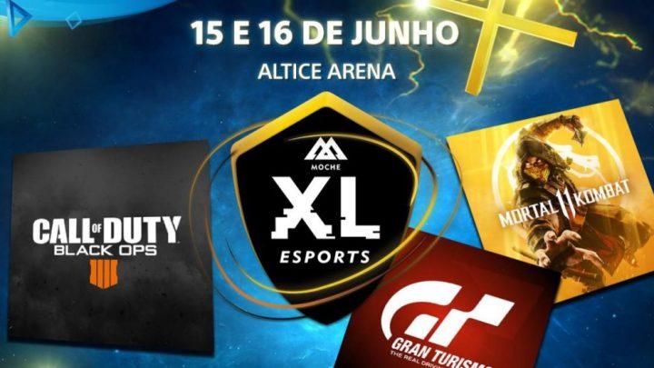 Moche XL eSports 2 - PlayStation confirma presença no Moche XL eSports