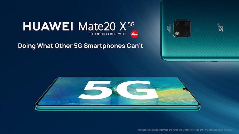 Huawei Mate20 X 5G 2 - Huawei Mate20 X 5G será lançado ainda este mês