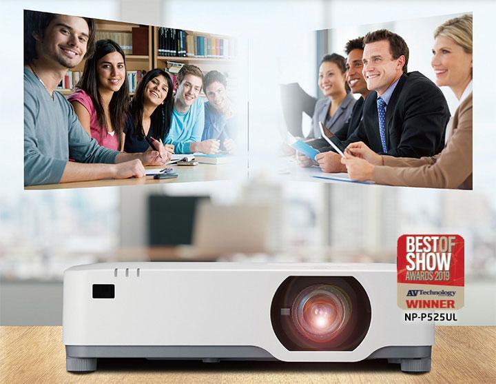 NEC P605UL 1 - NEC lançou um novo projetor laser super silencioso e ultrapoderoso