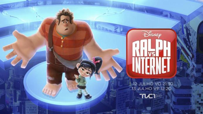 Ralph Vs Internet - Ralph Vs Internet hoje na televisão Portuguesa